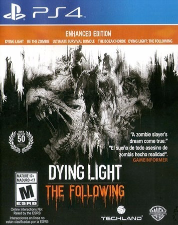 dying light: the following ps4 * juega con tu usuario