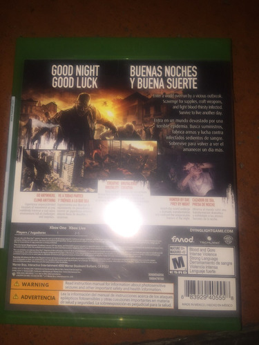 dying. light xbox one