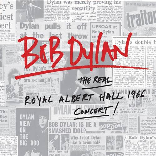 dylan bob real royal albert hall 1966 concert cd x 2 nuevo