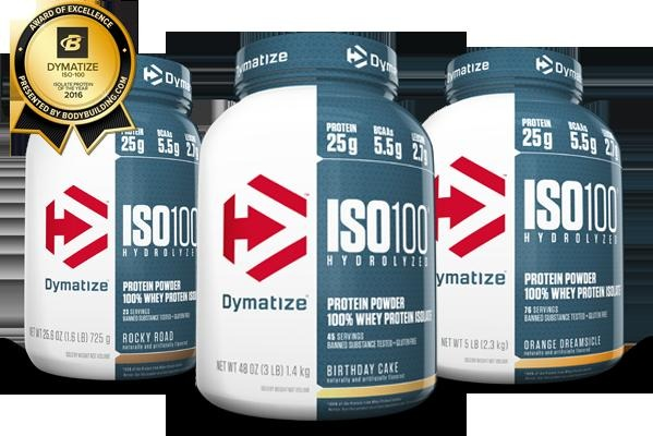 Dymatize Iso 100 5 Lbs