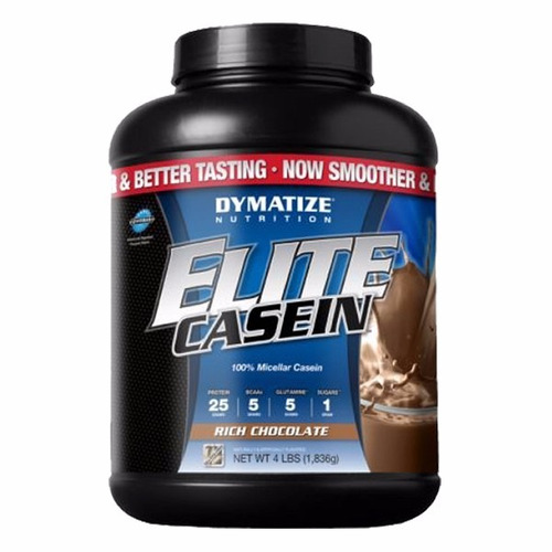 dymatize nutrition elite caseina 4lbschocolate imporrada gxa