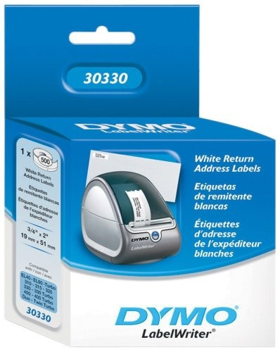 dymo authentic lw etiquetas de remitente para labelwriter