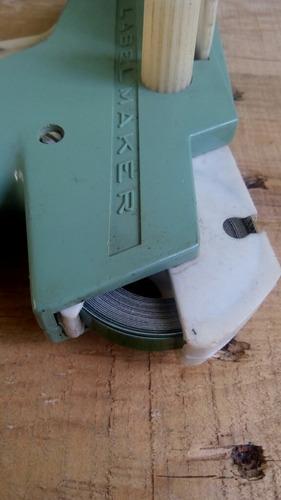 dymo labelmaker etiquetadora en relieve marcador grabadora