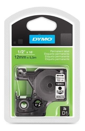 dymor modelo 16955 cinta de plastico permanente de color neg
