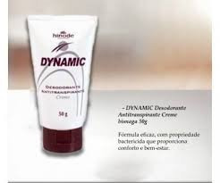 76b513840 Dynamic Desodorante Antitranspirante Em Creme Bisnaga - R  16