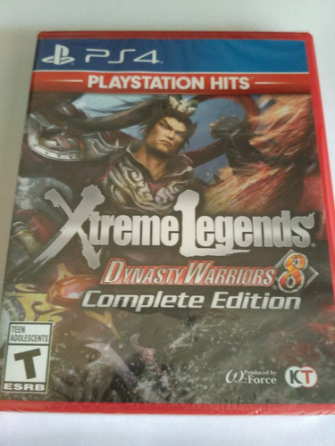 dynasty warriors 8 xtreme legends complete edition ps4 hits