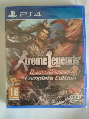dynasty warriors 8 xtreme legends ps4 nuevo sellado