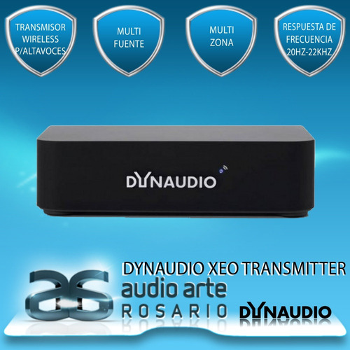 dynaudio xeo transmitter, transmisor digital de 3 in stereo