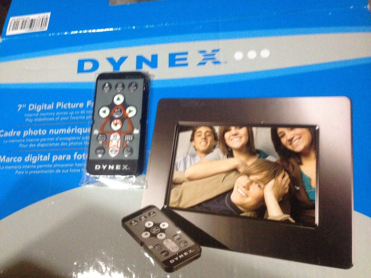 Dynex, Marco Digital 7 Para Fotos. - $ 800.00 en Mercado Libre