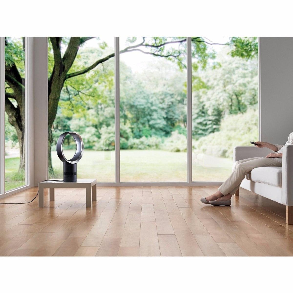 dyson air multiplier am06 ventilador de mesa negro. Black Bedroom Furniture Sets. Home Design Ideas
