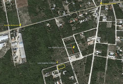 dzityá lotes residenciales de 660 m2