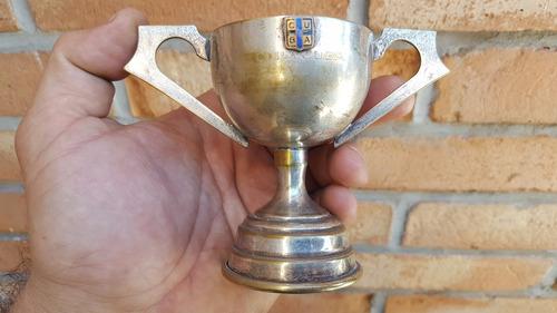 e-antigua copa trofeo cuba sable 1975 escudo enlozado