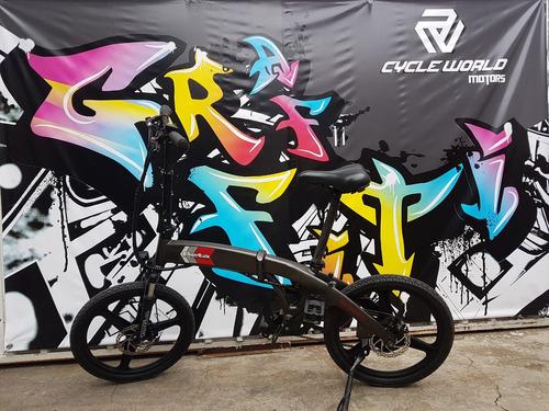 e-bike bici  electrica beta smart 250w plegable hasta 15/12