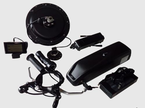 e-bike kit electrico 350w 40km/h motor bateria litio *