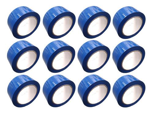 e cinta azul adhesiva x 12 unidades
