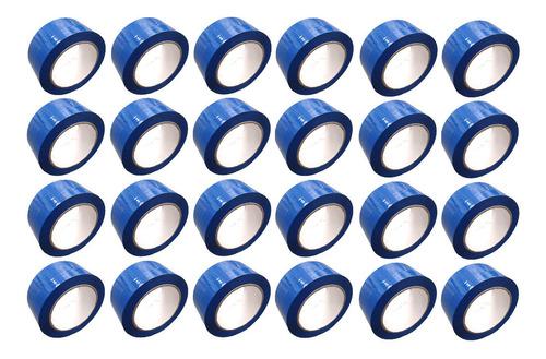 e cinta azul adhesiva x 24 unidades