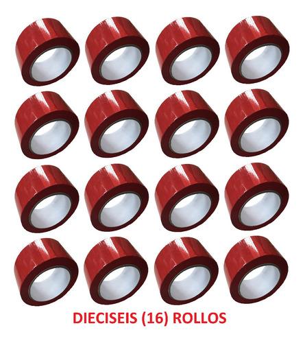 e cinta roja adhesiva x 16 unidades