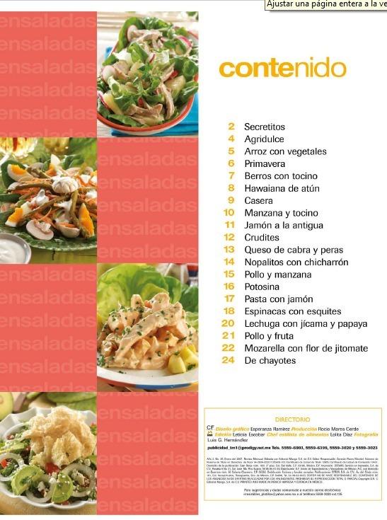 E Cocina Irresistibles Ensaladas 25 Recetas Faciles