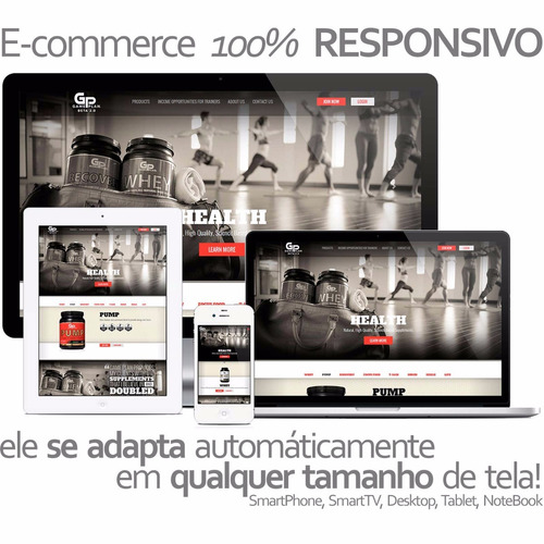 e-commerce - loja virtual - 100% gerenciável