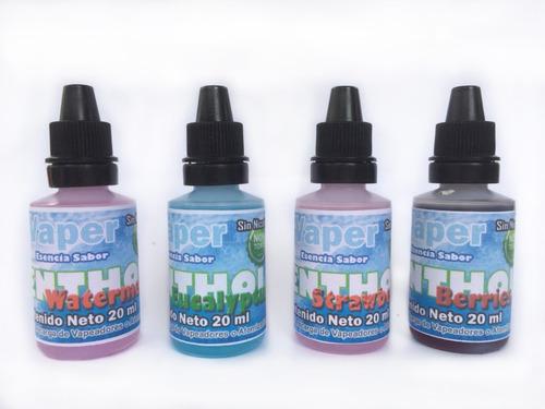 e-liquid mentolados cigarrillo electrón - l a $400