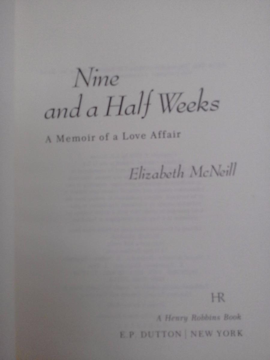 nine and a half weeks mcneill elizabeth