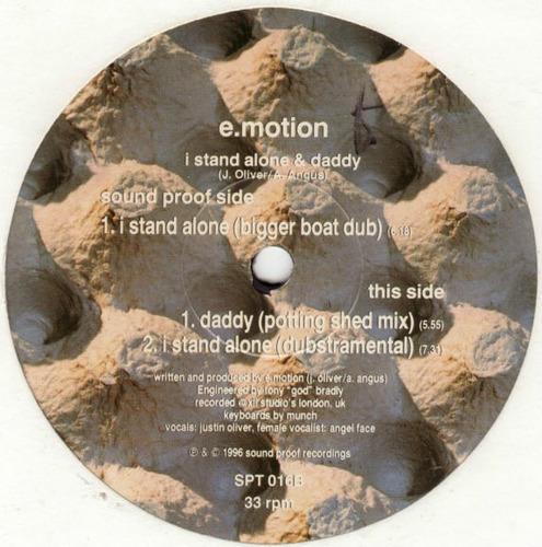 e-motion  12 single   i stand alone