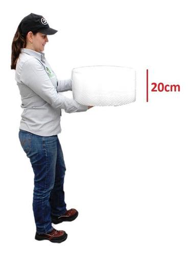 e rollo plástico burbuja de 20cm x 50 metros
