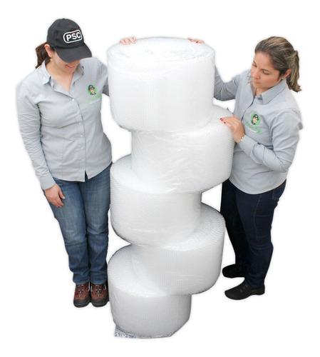 e rollo plástico burbuja de 30cm x 50 metros x 5 unidades