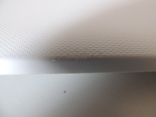 e - tampa da tela (branca) notebook asus x200ca  @25