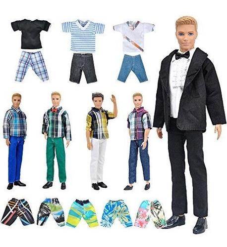e-ting lote 10 artículos = 5 sets ropa de moda ropa casual