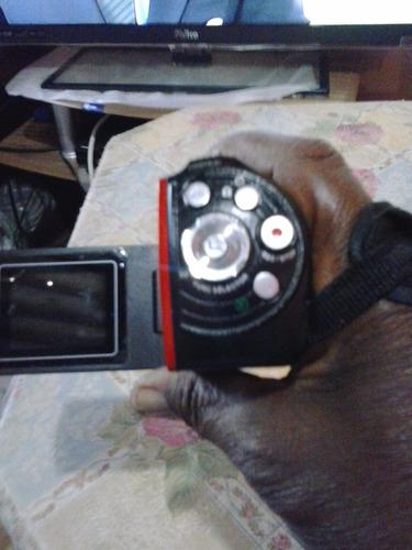 é uma filmadora e foto c/entrada para cabo