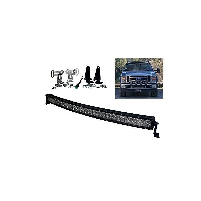 E us series curvo 40 oz usa 240w ultra spot led light bar of led light bar of cargando zoom aloadofball Choice Image