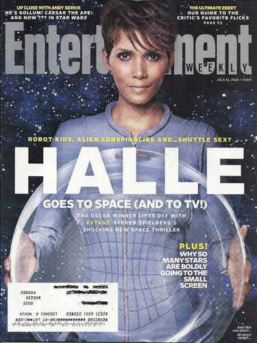e weekly: halle berry / roger ebert / tom ellis / andy serki