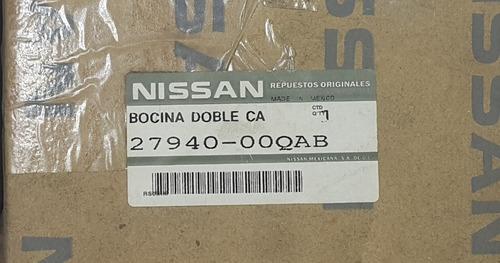 e1 bocina renault clio nissan platina nueva original