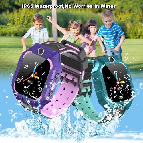 e12 reloj para niños reloj inteligente posición de lbs