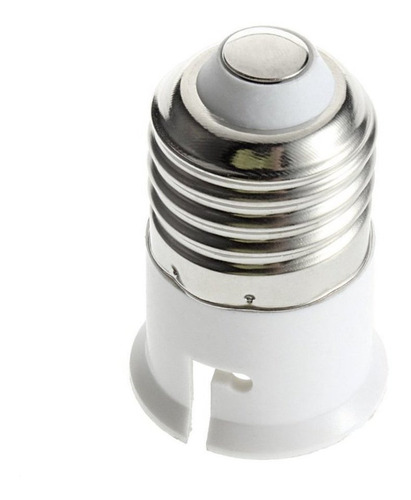 e27 a b22 casquillo de la bombilla de la base del soporte de