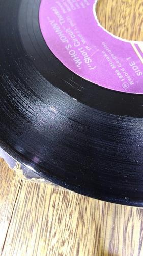 e287 el debarge who's johnny tema de short circuit 45 rpm si