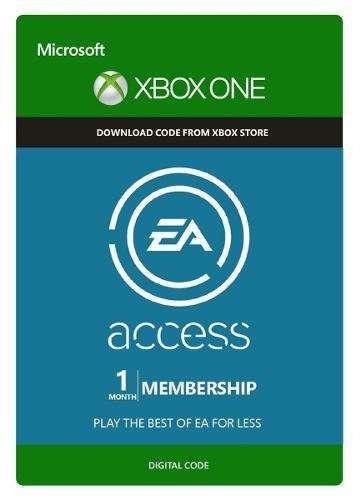ea access 1 mes membresia - xbox one