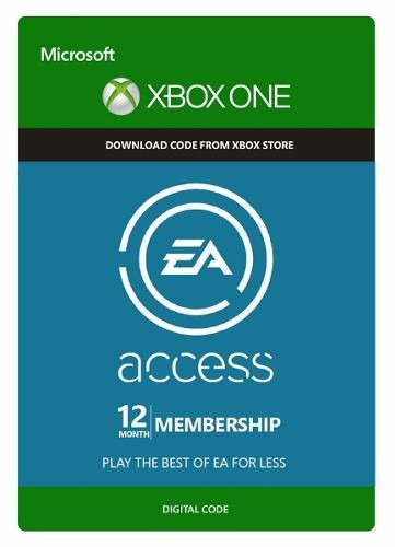 ea access 12 meses membresia - xbox one