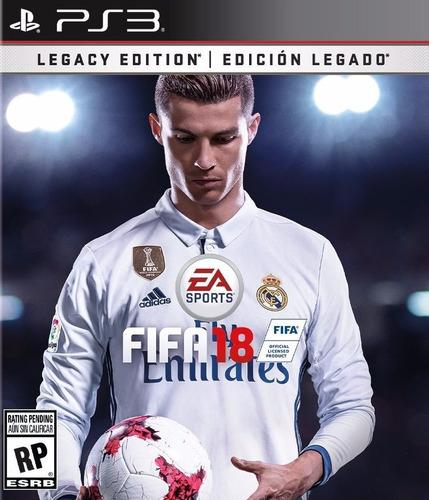 ea fifa 2018 fifa18 legacy edition digital ps3 neogamez