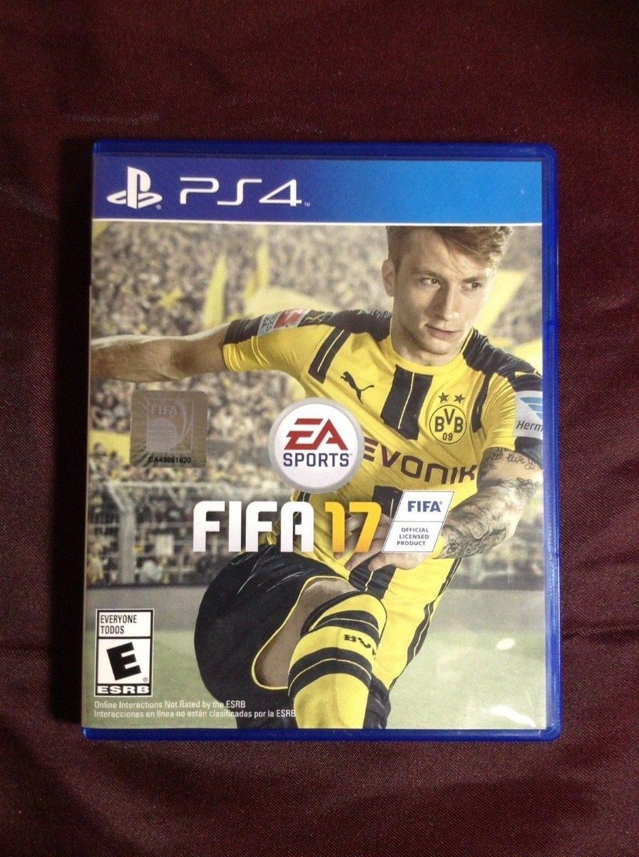 Ea Sports Fifa 17 Sony Playstation 4 Ps4 S 5500 En Mercado Libre Game Cargando Zoom