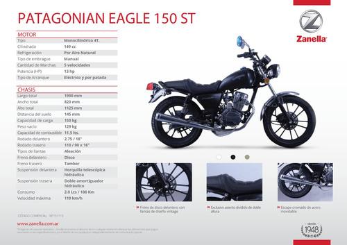 eagle 150 motos zanella patagonia