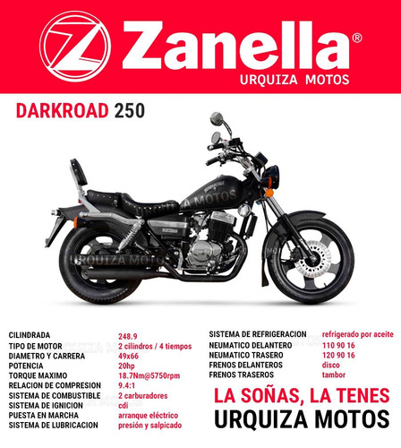 eagle 250 chopper zanella patagonian