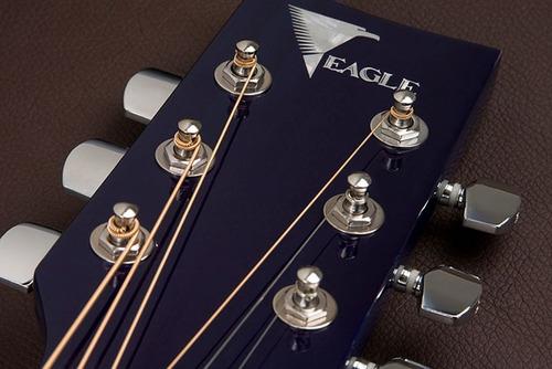 eagle ch887  violão elétrico folk blue sunburst frete grátis