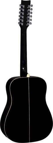 eagle ch888e12 violão el folk aço 12 c black
