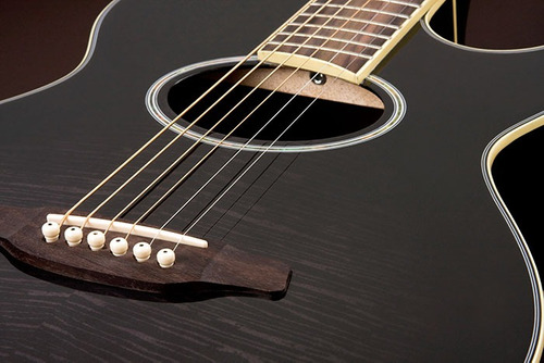 eagle gl36 violão aço el mini-jumbo black burst frete grátis