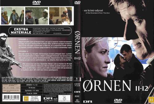 eagle  (ornen) serie completa (sueca) 8 dvd