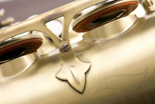 eagle st503vg saxofone tenor em sib : vintage - frete grátis