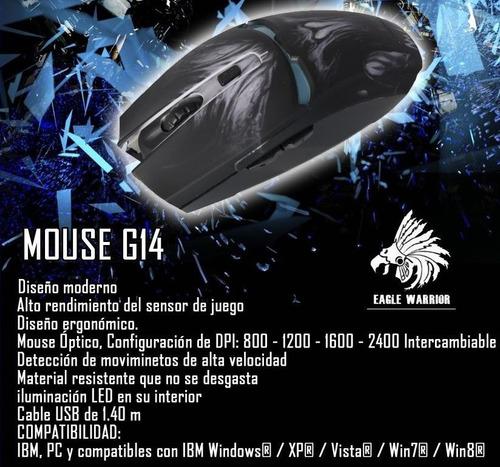 eagle warrior mouse