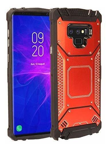 BESTCASESKIN 360/° Protecci/ón Funda Compatible con Xiaomi Redmi Note 9 Pro MAX Carcasa M/óvil de Protector 2 en 1 Caso Case Cover Rojo Cubierta